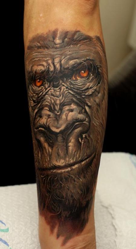 Tattoos - Silverback gorilla - 63841